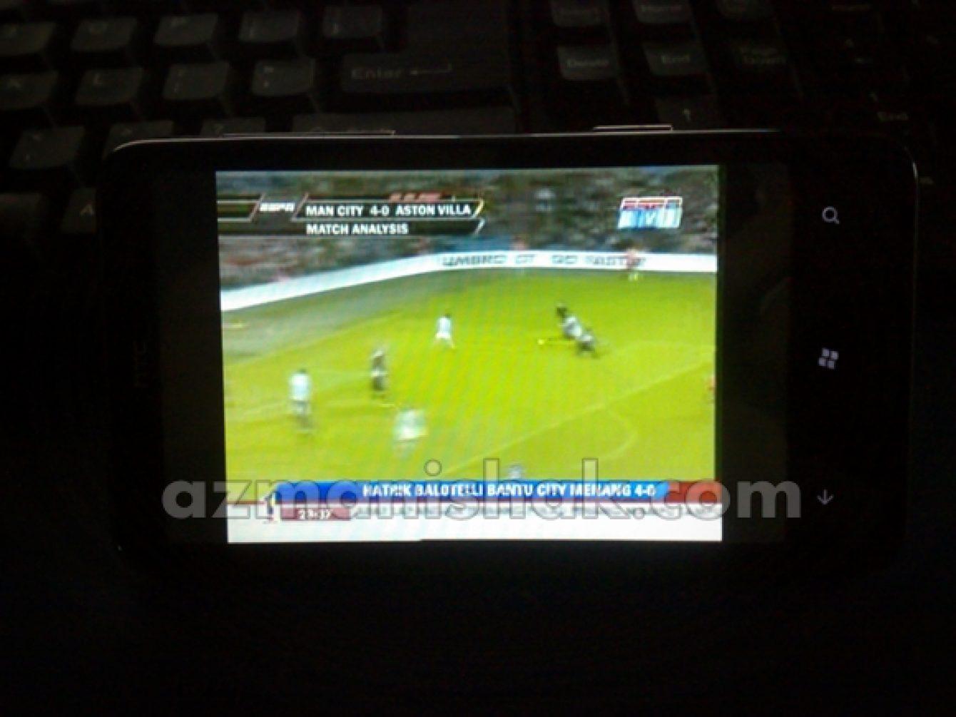 HTC HD7 – MiraTV – Aplikasi Streaming TV Sedunia