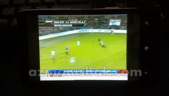 HTC HD7 – MiraTV – Aplikasi Streaming TV Sedunia