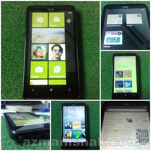 "Review 4 – #Maxis10 HTC HD7 – ""Teras Keras"""