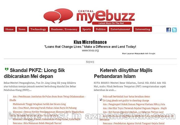 Central MyEbuzz – Satu lagi laman E-Berita untuk anda