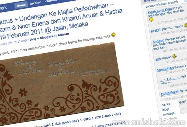 Perjumpaan MINI Blogger #KNIZAMmeetUP 2011 – RT TQ