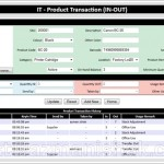 Fasa ke2 – PHP Projek: Transaction IN/OUT