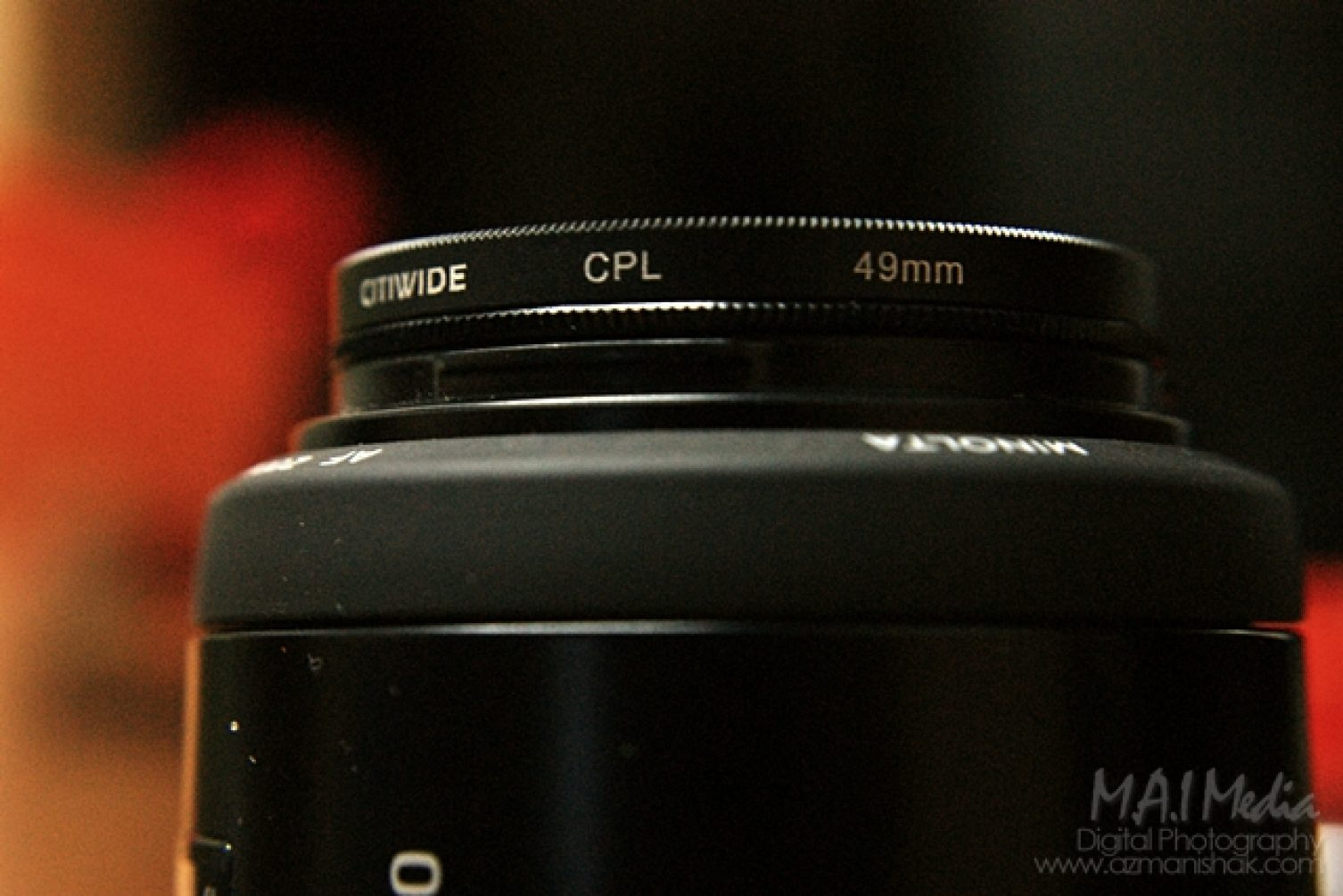 Membeli lense filter di DLSRplaza.com