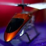 BigPicture : Mini Helicopter dari bidikan Samyang 85mm f1.4 bersama Extension Tube