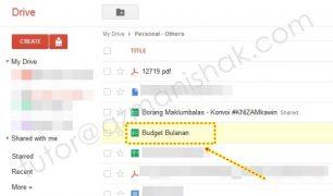Tutorial: Memaparkan Google Document di dalam web anda