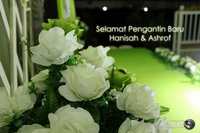 Fotografi Perkahwinan : Ashrof & Hanisah