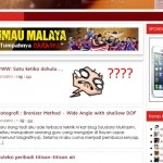 TIPS WORDPRESS: Template terlopong kerana Wordless Wednesday? Mari saya bantu anda!