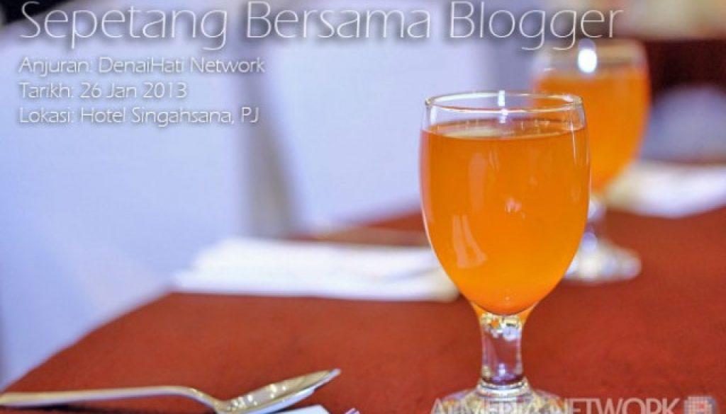 Sepetang Bersama Blogger 2013 dah macam Red Karpet Artis tahuuu....