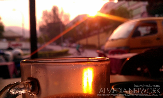 Kalau time pagi, agak layan sarapan sambil tengok matahari terbit