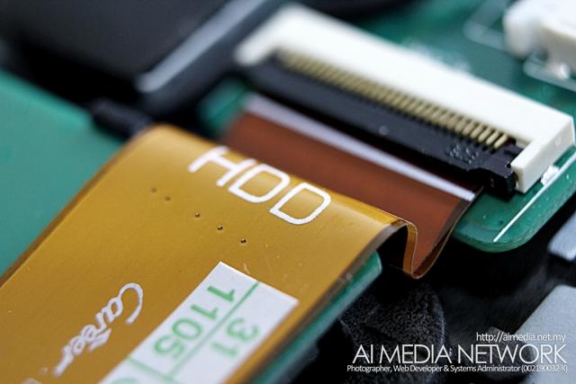 Ribbon Hard Disk ini jugak mudah rosak, dan perlu diganti sekiranya perlu