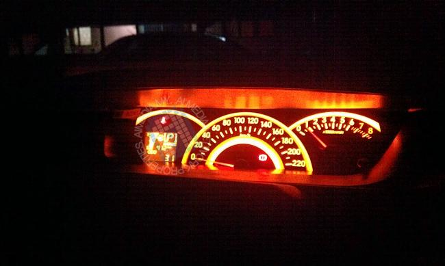 Sekadar gambar hiasan - Meter Dashboard Produa Alza