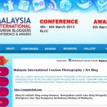 Sesi Pencalonan Malaysia International Tourism Bloggers Conference & Award kini dibuka