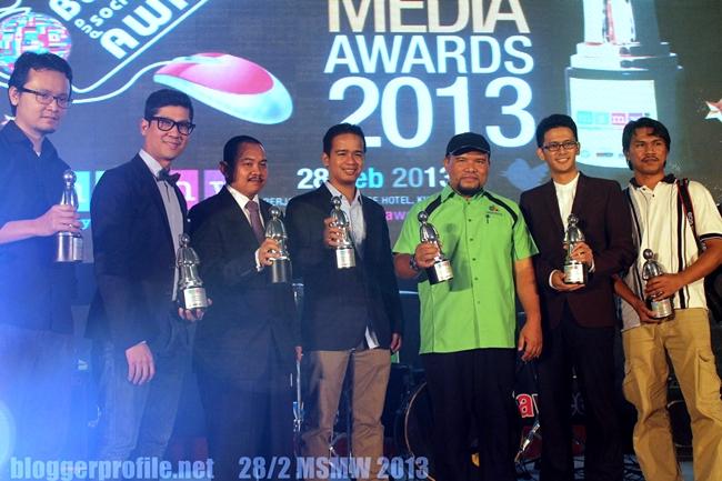 Antara rakan-rakan yang berjaya menggondol award dibawah Group DenaiHati Network