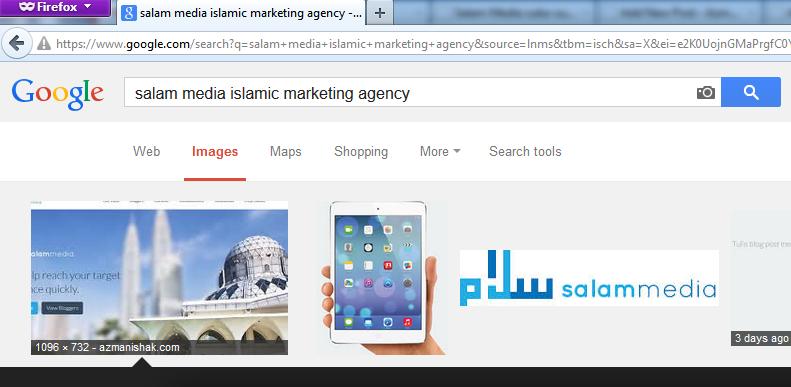 Hasil carian gambar pada Google.Com dengan meletakkan diri di tempat pertama. lol~