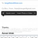 Tutorial : Liveblog menggunakan email dan Flickr