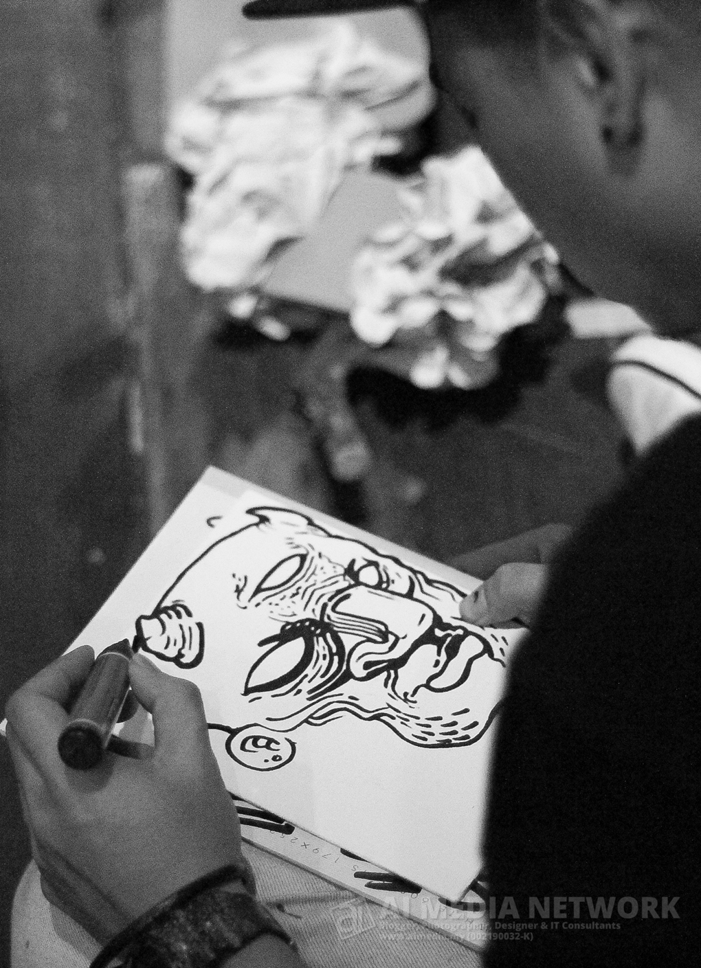 Imaginasi dan ekspressi seorang pelukis