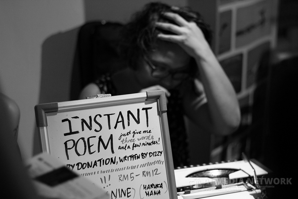 Instant POEM. Give me 3 words and few minutes. Dont forget to donate ar!