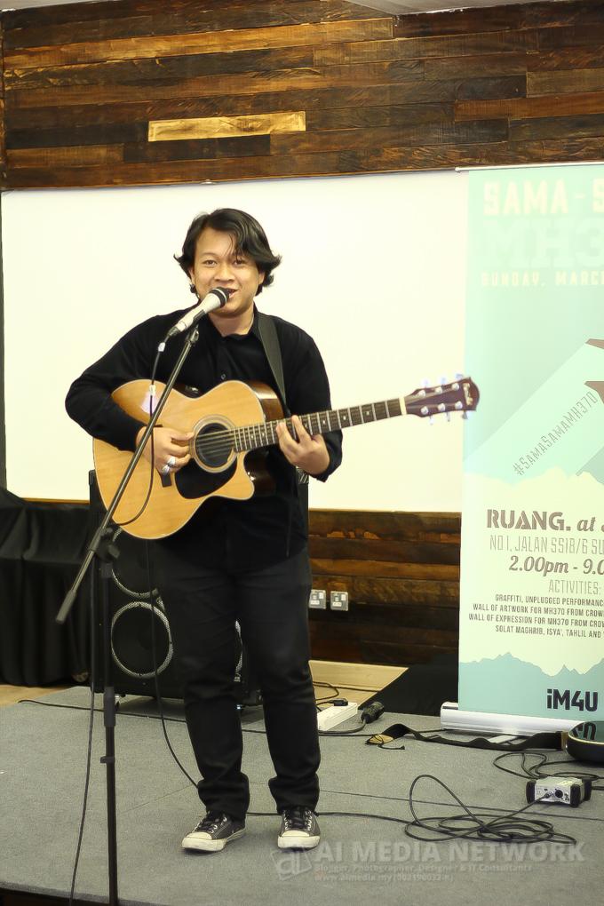 Amir Jahari dengan lagunya: Tanpamu