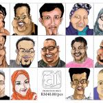 Promosi melukis karikatur