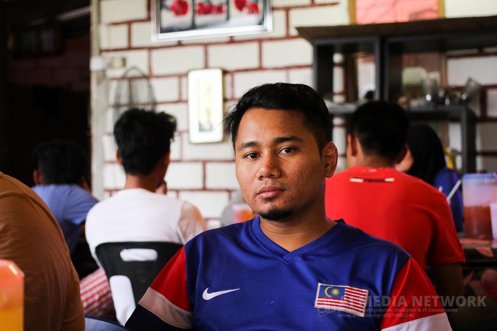 Owner Negaraku.My, saudara Edwin Masripan