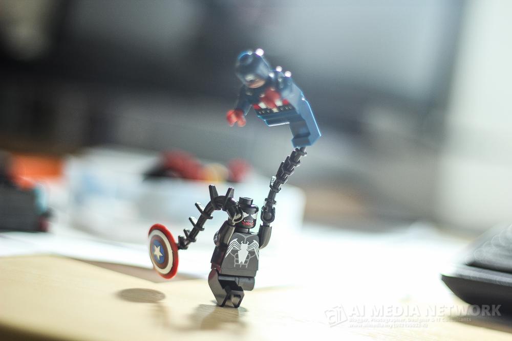 Venom : Ape? Nak ngetest ye? Haaa nahhh ubat ngetest hang!