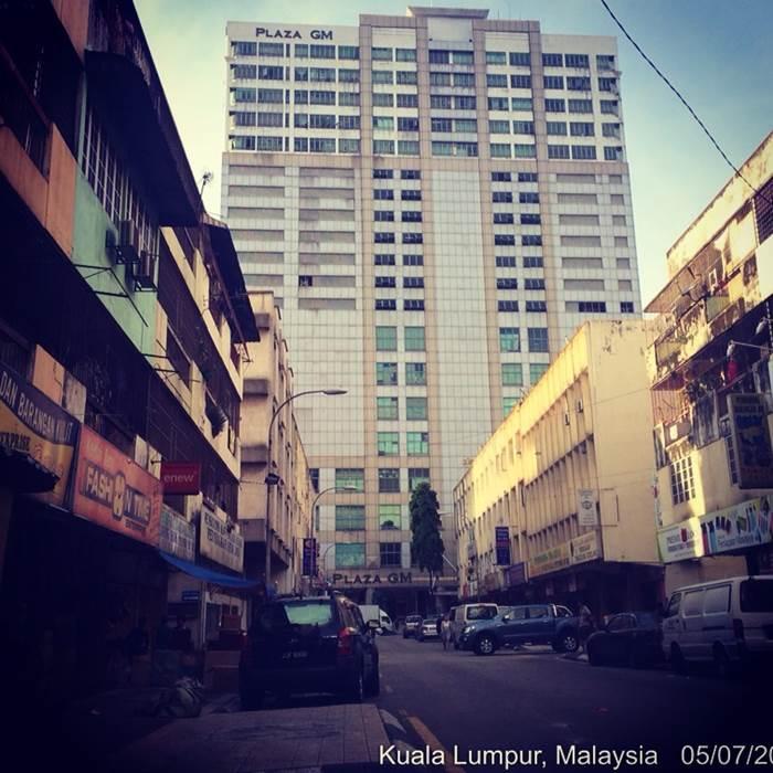 Misi dimulakan dari Lorong Hj Taib, Kuala Lumpur