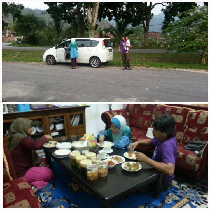Caption Gambar: Berhari Raya Di Rumah Kujie2 - SEO Habaqhang! bhahahaha