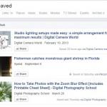 """Info : Fungsi """"simpan dahulu dan baca kemudian"""" daripada Facebook"""